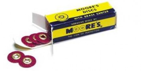 "Moore's Sanding Discs 7/8"" Medium 100.1081"