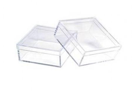 """Plastic Storage Boxes 2 x 2"""" 155.0132"""