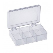 Plastic Storage Box 6 Compartment 155.0220