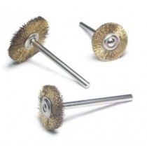 Mounted Brass Brushes Straight 160.7805