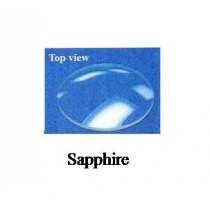 1.0 mm Domed Sapphire Crystal (30.0 mm) 1.0DSAP300