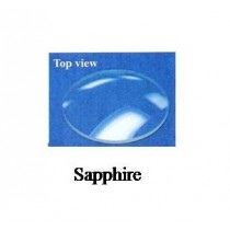 1.0 mm Domed Sapphire Crystal (33.0 mm) 1.0DSAP330