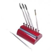 Wax Carving Set with Wooden Stand (7 pc) 210.2300