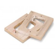 """Aluminum Mold Frame  3 3/4 x 2 1/2""""  (1"""" Thick) 220.0559"""