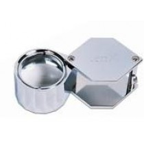 10X Loupe 21mm Hex Chrome 290.0405