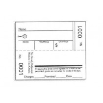 """#9001-10000 Two Part Repair Tags (2 1/2 x 3 1/8"""") 605.0260"""