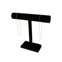 """Bracelet T-Bar Black Velvet (12 x 7"""") DP10.412-99"""