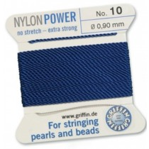 Nylon Bead Cord Dark Blue #10 NY05-1066