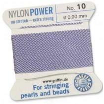 Nylon Bead Cord Lilac #10 NY05-1070