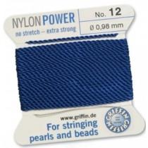 Nylon Bead Cord Dark Blue #12 NY05-1266