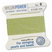 Nylon Bead Cord Jade #08 NY05-850
