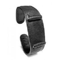 Leather Cuff Black WB-404BK